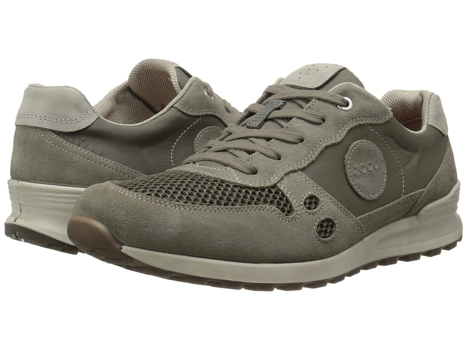 ECCO CS14 Retro Sneaker (Warm Grey/Dark Clay/Moon Rock) Men