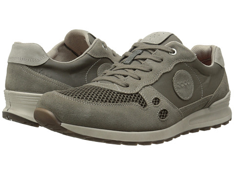 ECCO - CS14 Retro Sneaker (Warm Grey/Dark Clay/Moon Rock) Men's Shoes