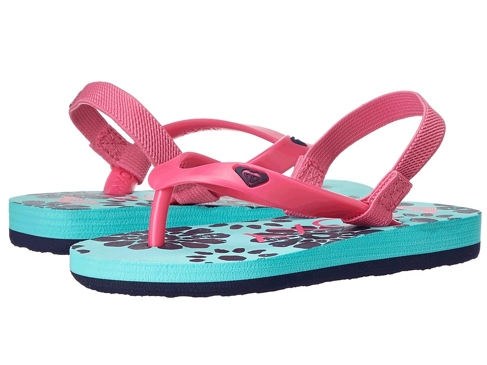 Roxy Kids - Tahiti V (Toddler) (Pink/Pink) Girls Shoes