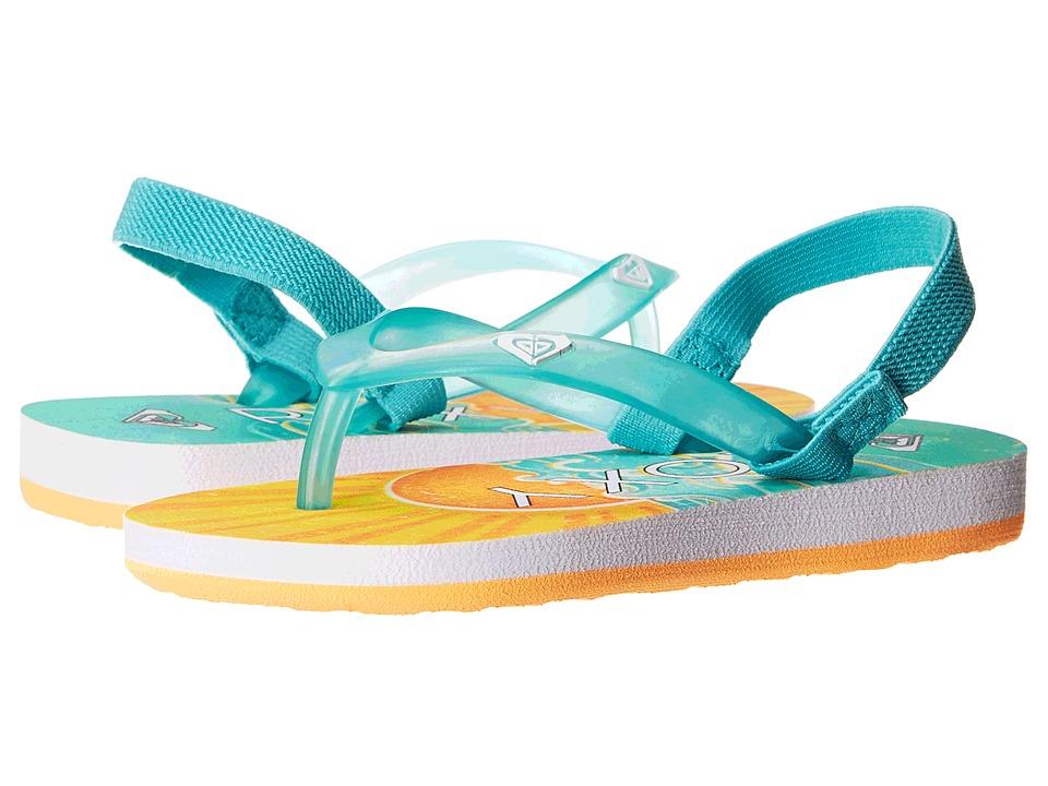Roxy Kids - Tahiti V (Toddler) (Blue Jay) Girls Shoes