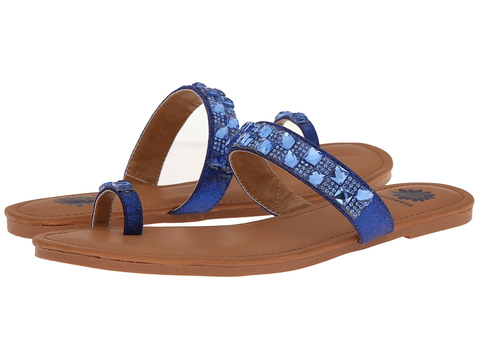 Yellow Box - Adalia (Blue) Women's Sandals