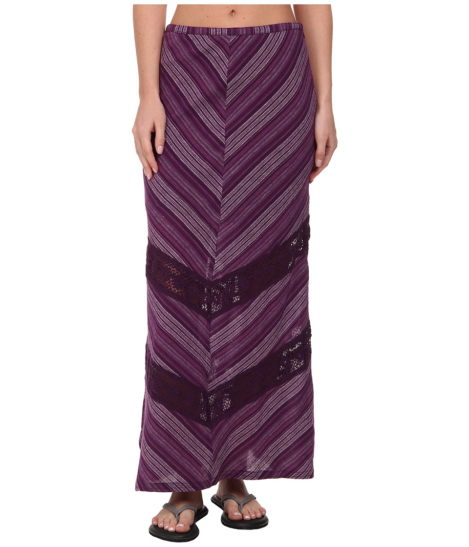 Prana Ginny Skirt (Dark Grape) Women