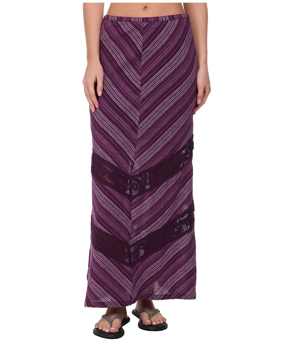 Prana - Ginny Skirt (Dark Grape) Women's Skirt