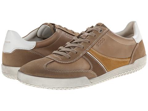 ECCO - Graham Tie (Navajo Brown/Navajo Brown/Birch) Men's Lace up casual Shoes