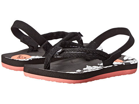 Roxy Kids - Volcano (Toddler) (Black) Girls Shoes