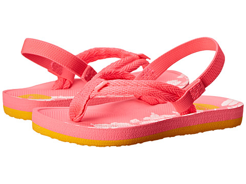 Roxy Kids - Volcano (Toddler) (Pink) Girls Shoes