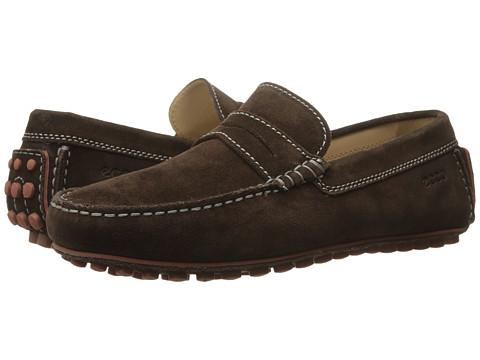 ECCO - Dynamic Moc (Mocha) Men's Slip on Shoes