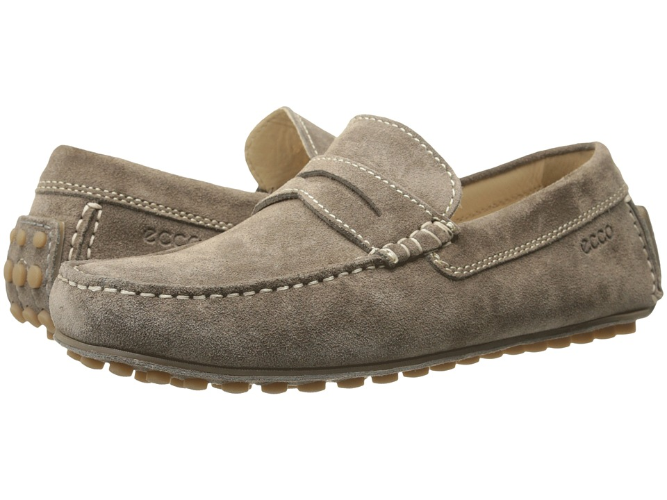 ECCO - Dynamic Moc (Warm Grey) Men's Slip on Shoes