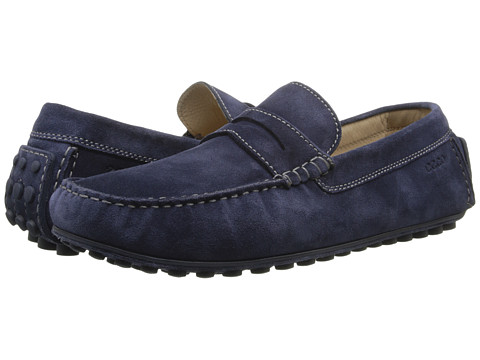 ECCO - Dynamic Moc (Medieval) Men's Slip on Shoes