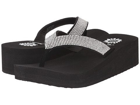 Yellow Box - Cliff (Black) Women's Sandals