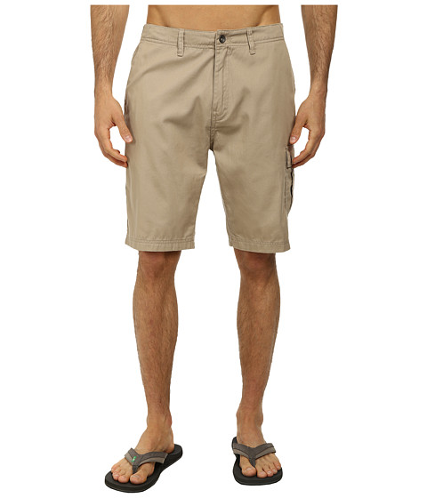 Reef - Rolling On Cargo Walkshort (Khaki) Men's Shorts