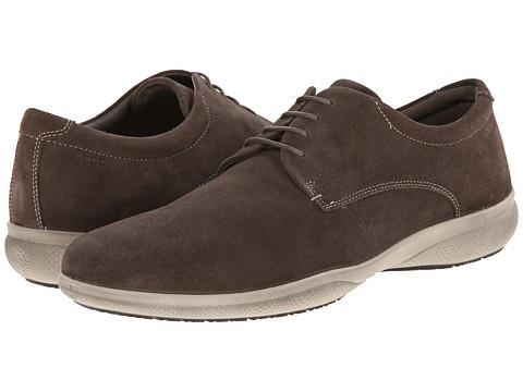 ECCO - Grenoble (Dark Clay) Men's Shoes