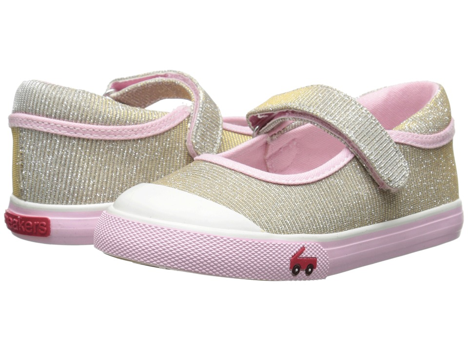 See Kai Run Kids - Marie (Toddler) (Gold) Girls Shoes
