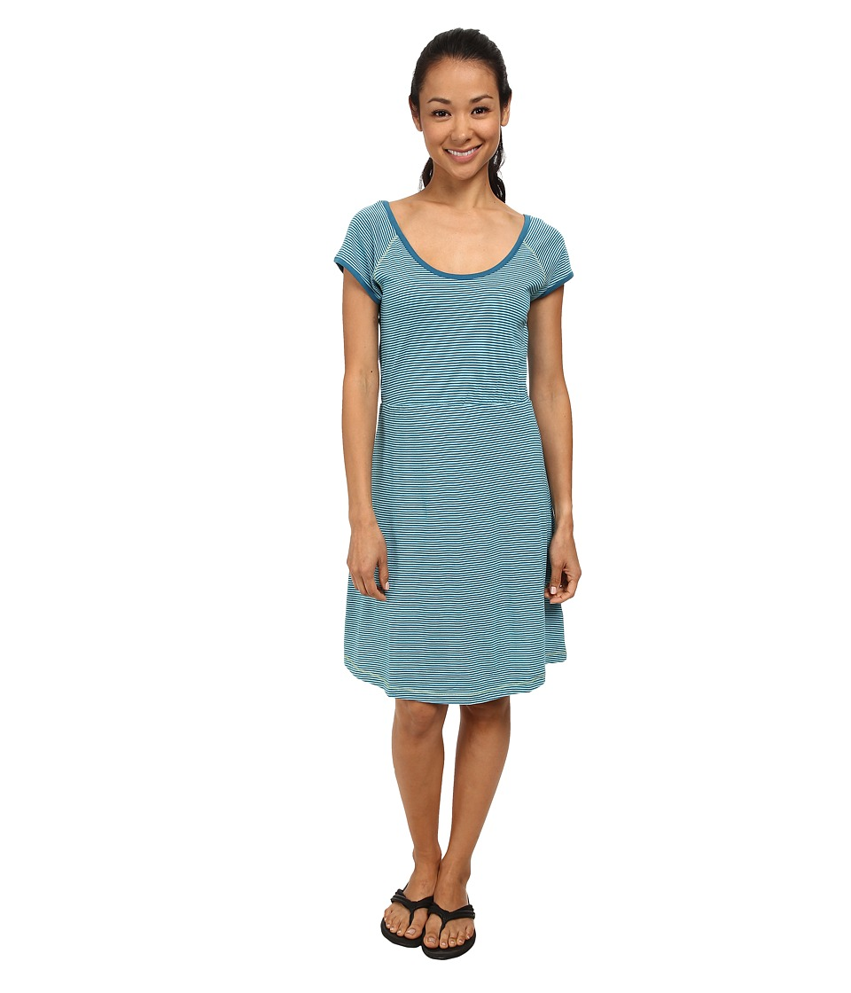 Prana - Faith Dress (Mosaic Blue) Women