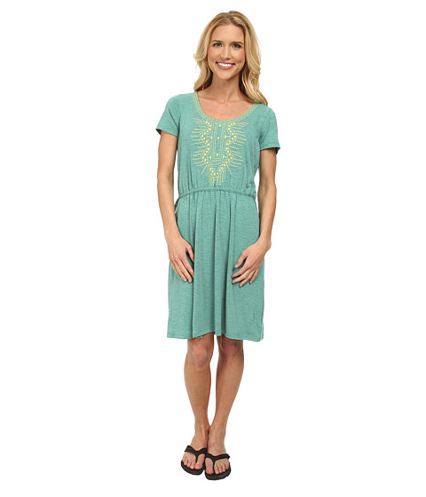 Prana - Bess Dress (Dynasty Green) Women