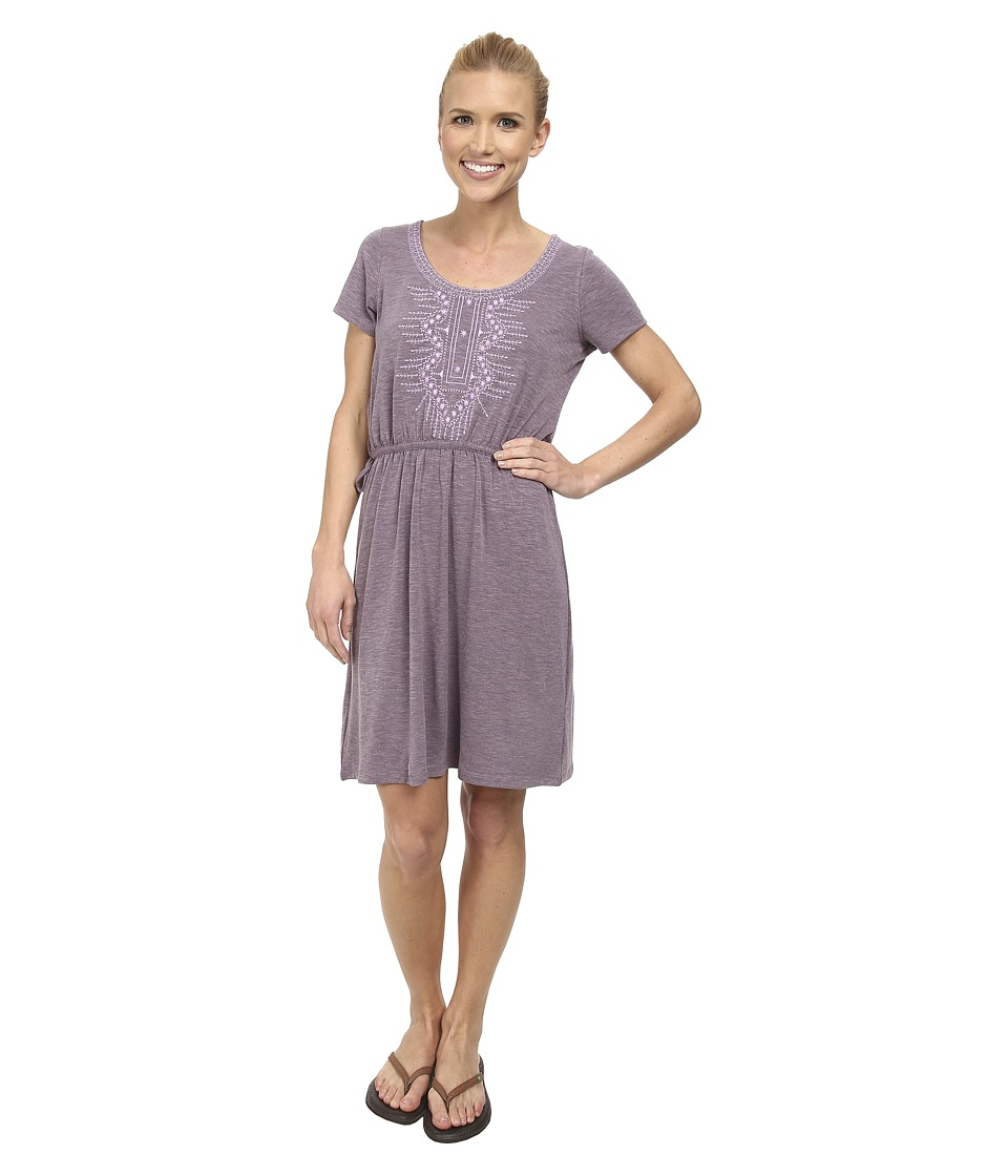 Prana - Bess Dress (Passion Plum) Women