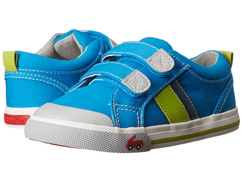 See Kai Run Kids - Russell (Toddler) (Blue) Boys Shoes