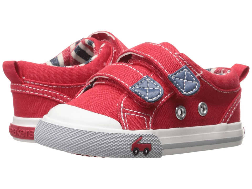 See Kai Run Kids - Hess II (Toddler) (Red) Boys Shoes