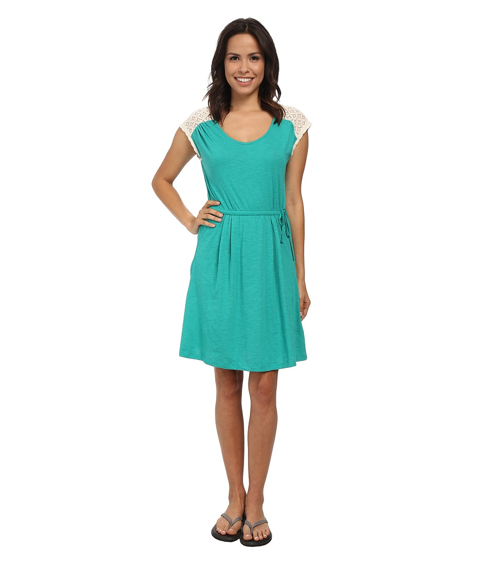 Prana - Angelina Dress (Dynasty Green) Women's Dress