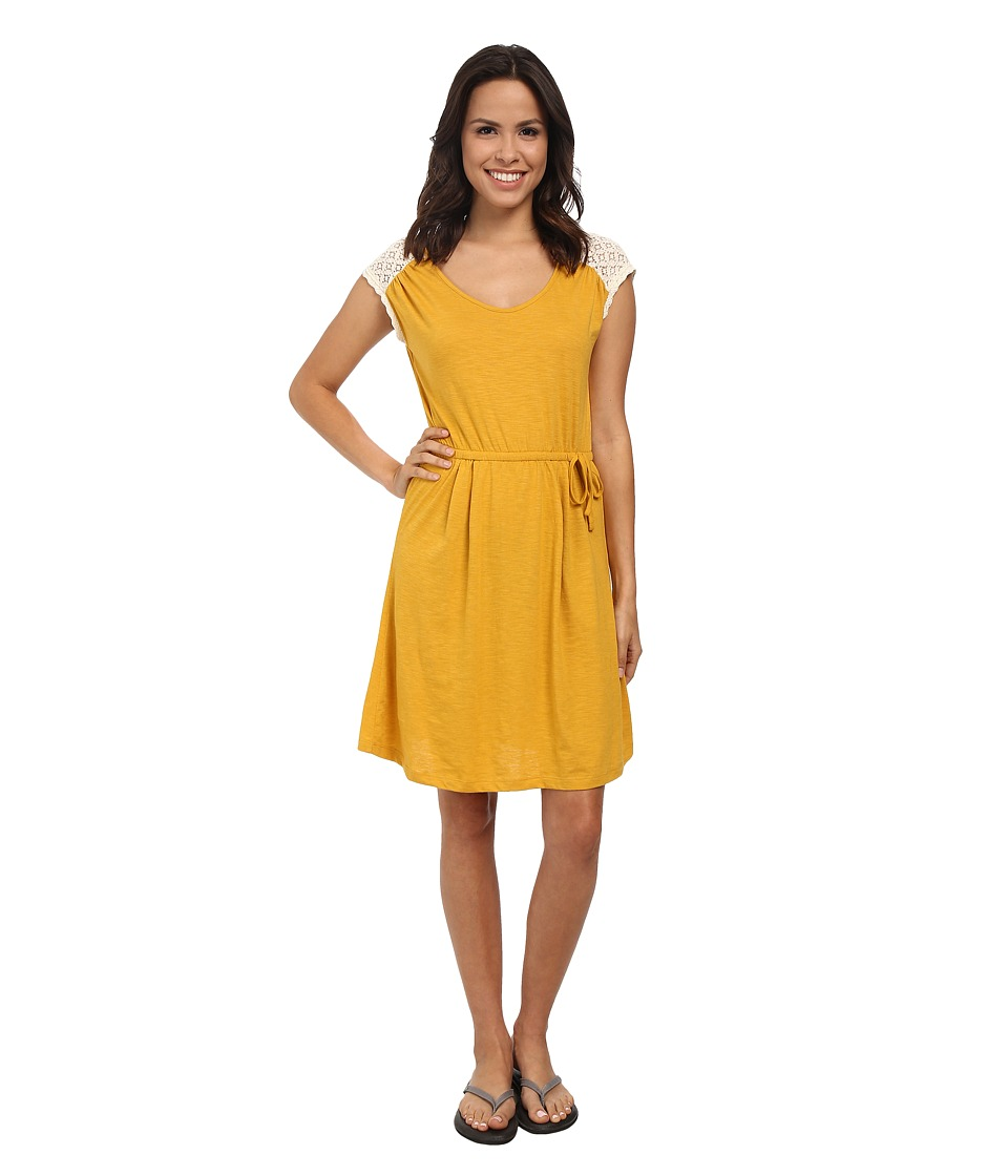 Prana - Angelina Dress (Marigold) Women's Dress