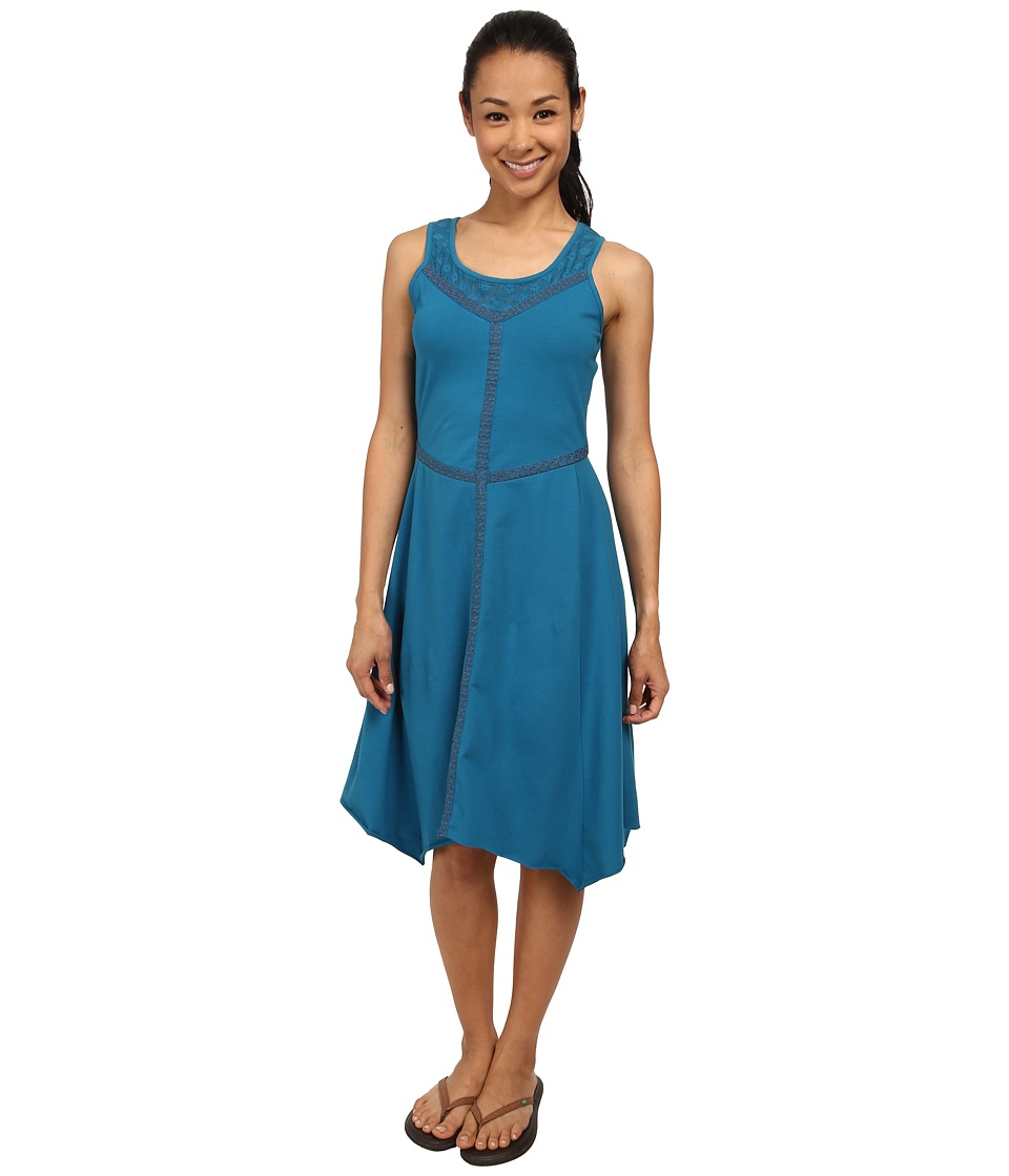 Prana - Trixie Dress (Mosaic Blue) Women's Dress