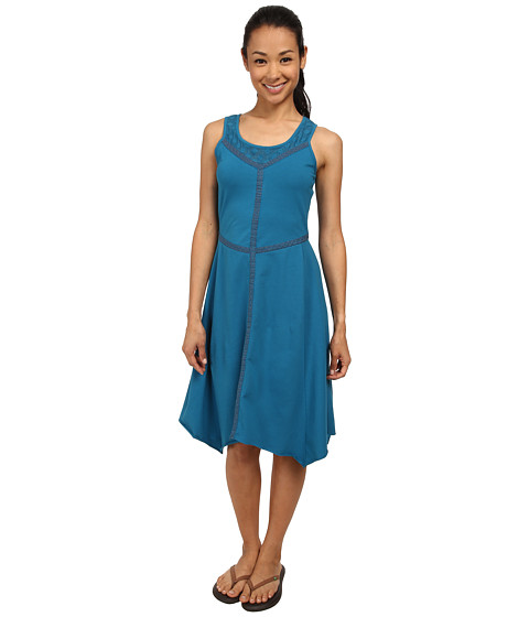 Prana - Trixie Dress (Mosaic Blue) Women