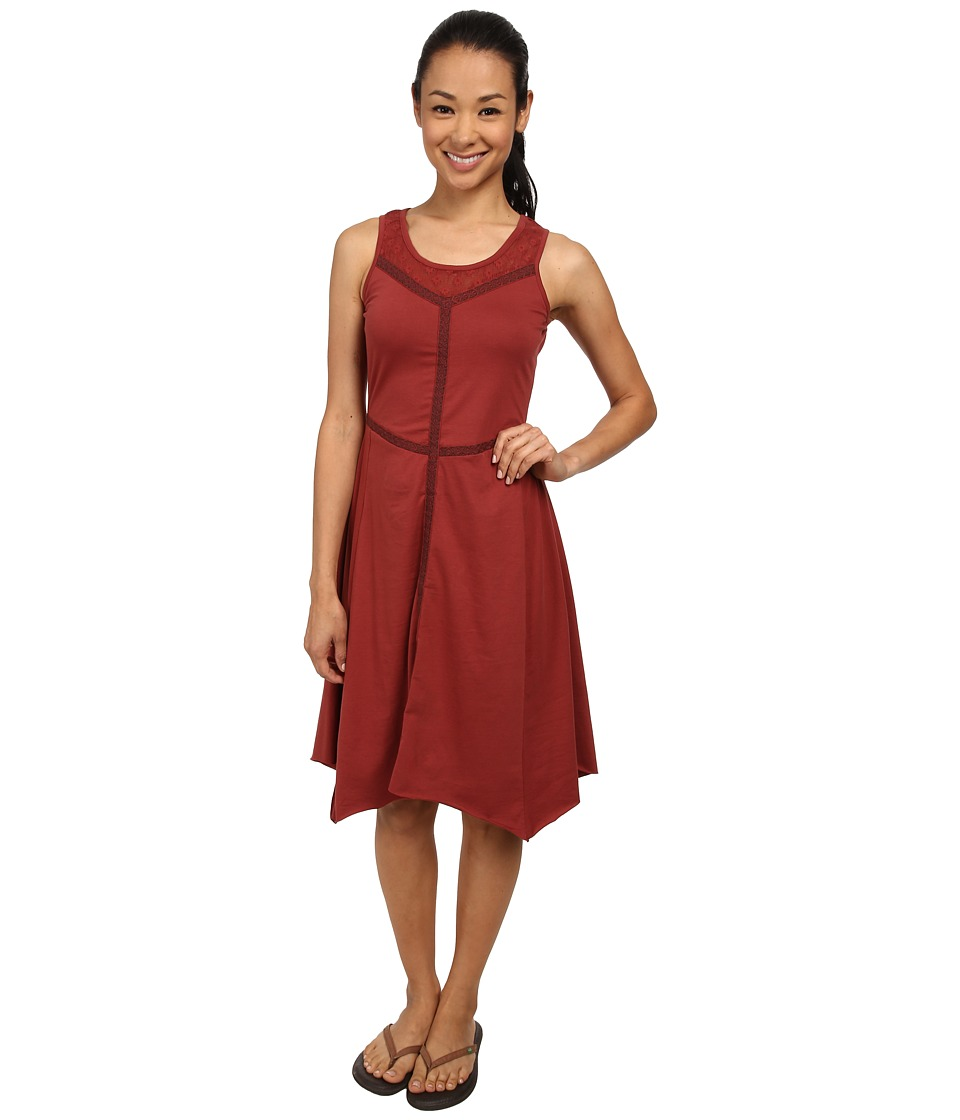 Prana - Trixie Dress (Tomato) Women's Dress