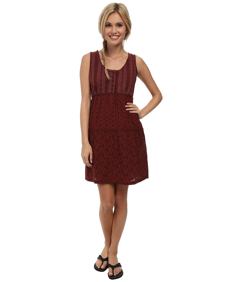 Prana Kendall Dress (Raisin) Women