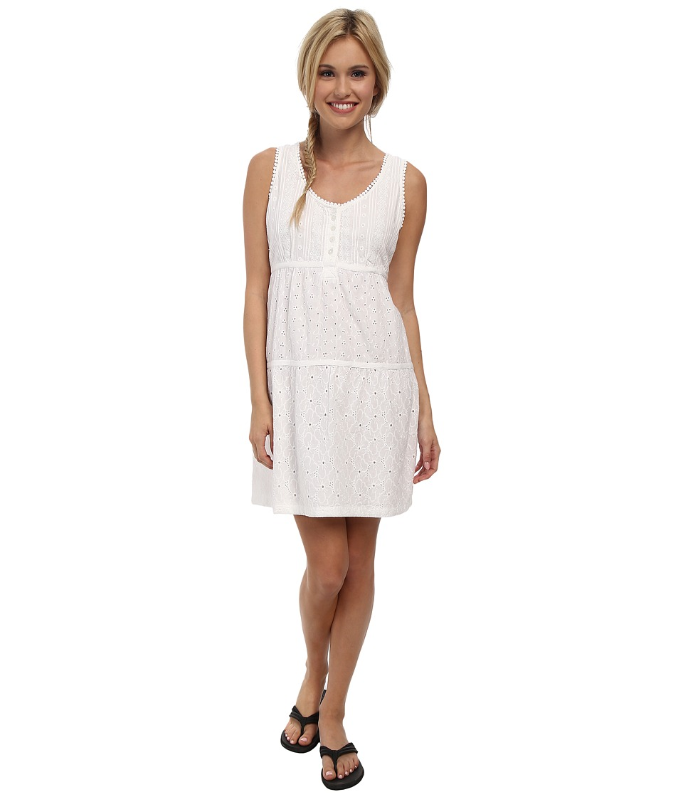 Prana - Kendall Dress (White) Women's Dress