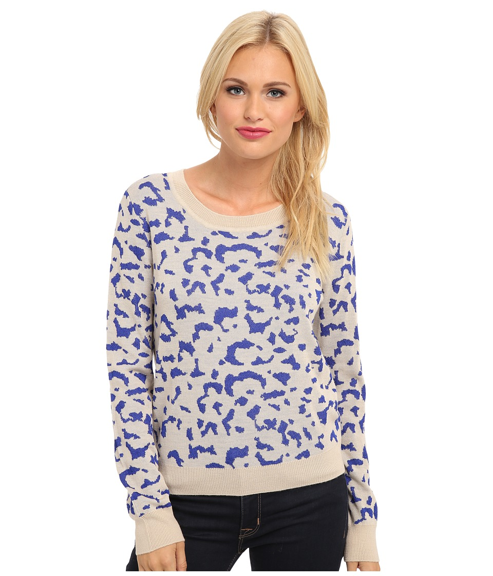 Townsen - Adelle Cropped Sweater (Royal) Women