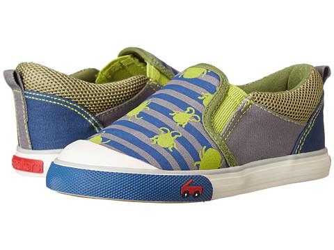 See Kai Run Kids - Slater (Toddler) (Green) Boys Shoes