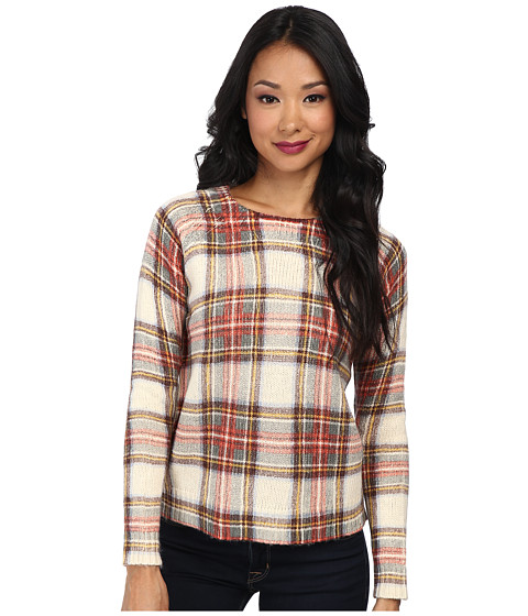 Townsen - Sleigh Sweater (Plaid) Women's Sweater