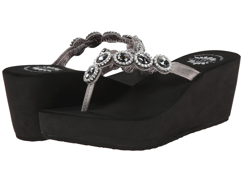 Yellow Box - Cradle (Pewter) Women's Sandals