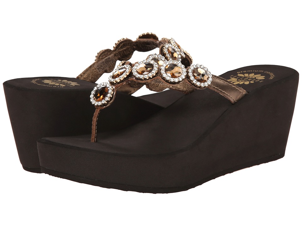 Yellow Box - Cradle (Bronze) Women's Sandals