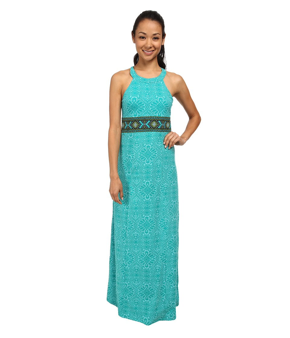 Prana - Skye Dress (Dynasty Green) Women