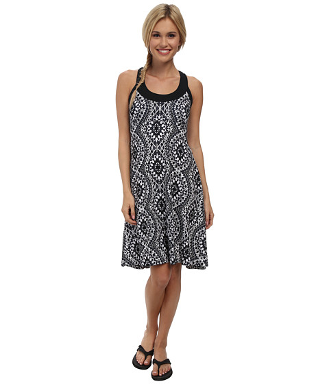 Prana - Cali Dress (Black Gardenia) Women's Dress