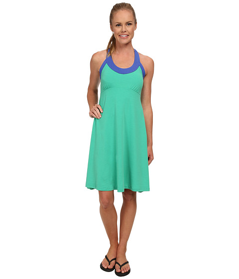 Prana - Cali Dress (Cool Green) Women
