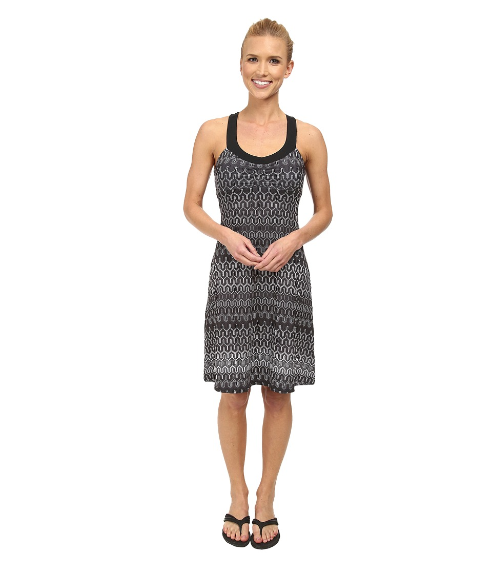 Prana - Shauna Dress (Black Ibiza) Women's Dress