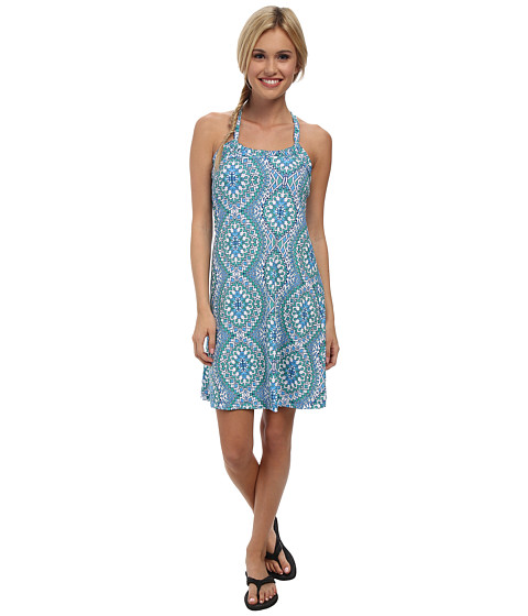 Prana - Quinn Dress (Blue Gardenia) Women