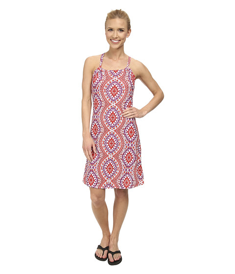 Prana - Quinn Dress (Coral Gardenia) Women's Dress