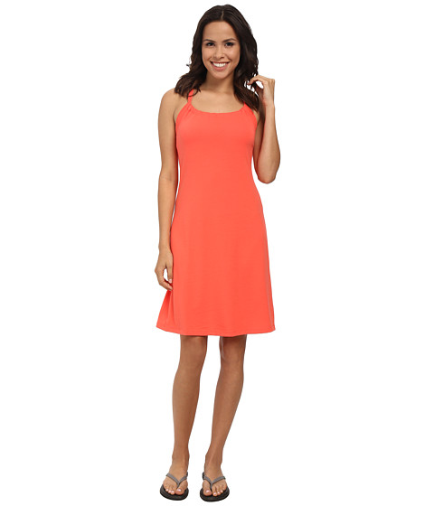 Prana - Quinn Dress (Neon Orange) Women's Dress