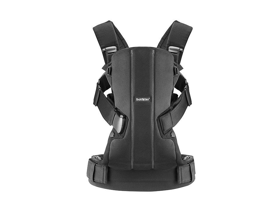 BabyBjorn - Baby Carrier WE (Black Cotton) Carriers Travel