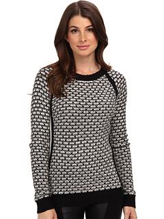 SALE! $32.99 - Save $11 on Pink Rose Raglan Sweater Top (Black Combo) Apparel - 25.02% OFF $44.00