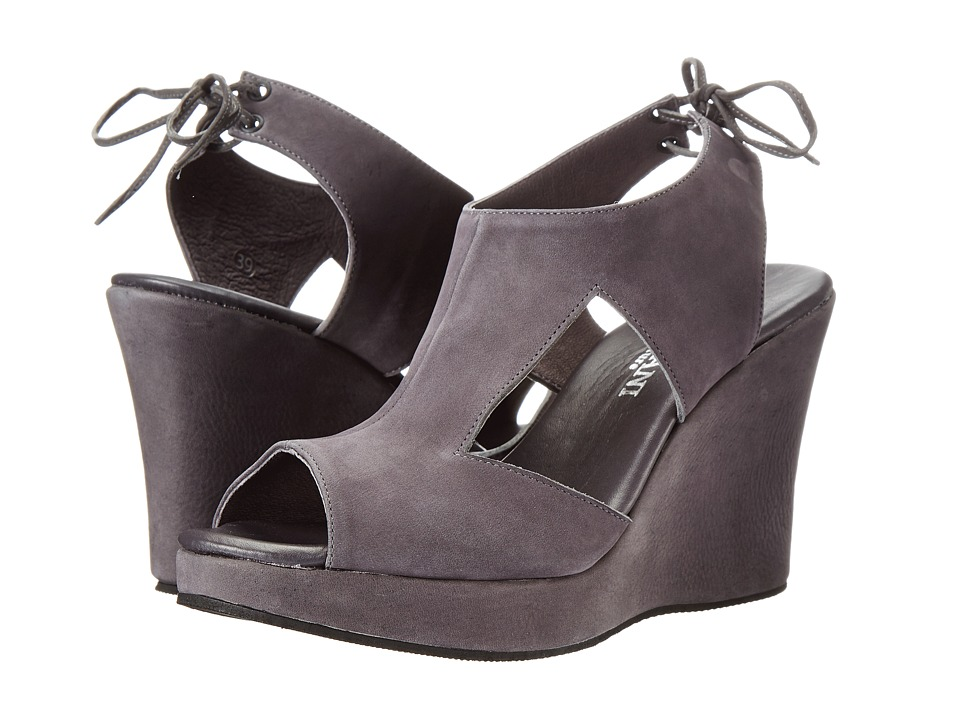 Cordani - Wilder (Grey Nubuck) Women's Wedge Shoes