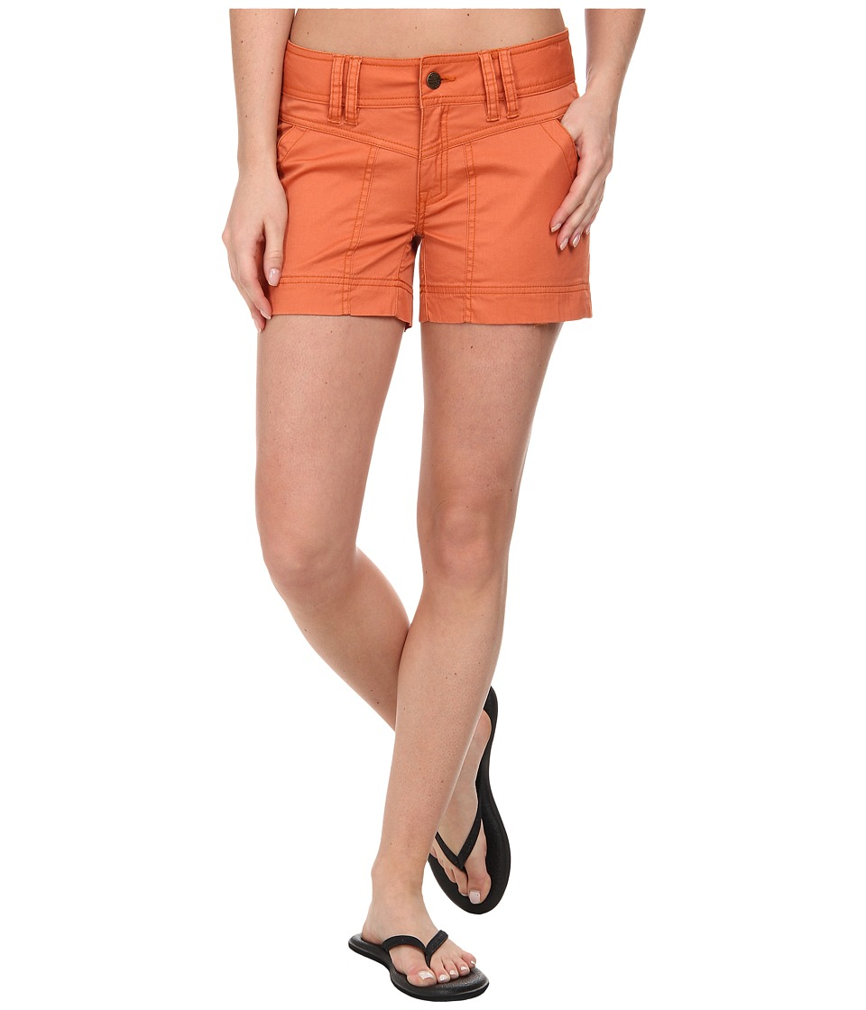 Royal Robbins - Ranger Twill Short (Persimmon) Women's Shorts