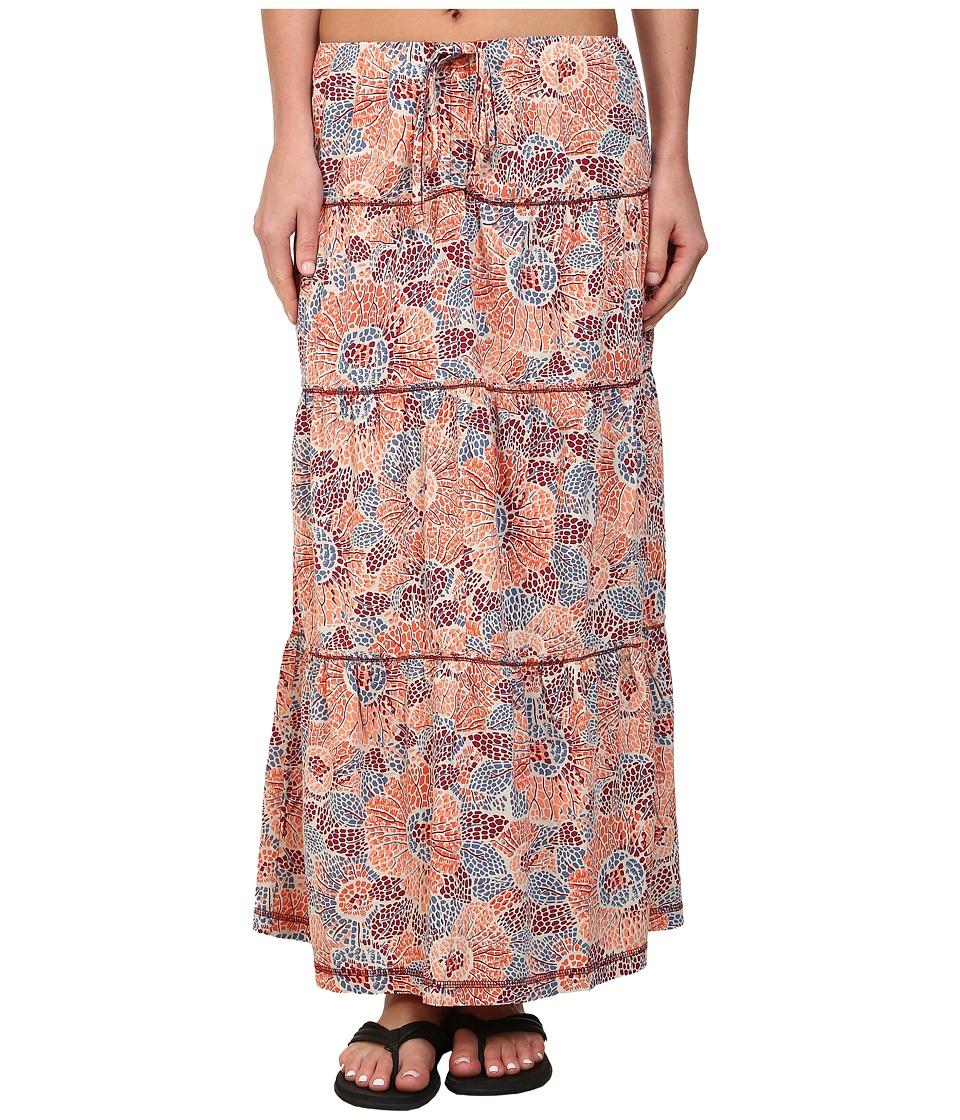 Royal Robbins - Sookie Sunflower Convertbile Skirt (Black Cherry) Women's Skirt