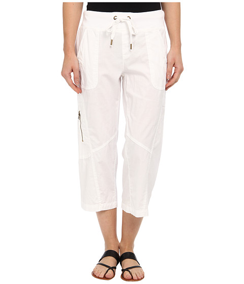 XCVI - Arrow Crop (White) Women's Casual Pants