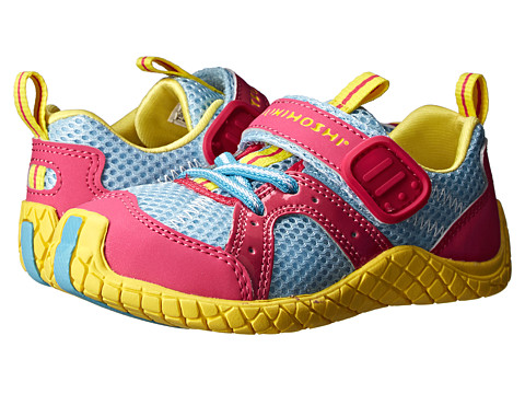 Tsukihoshi Kids - Marina (Toddler/Little Kid) (Fuchsia/Light Blue) Girls Shoes