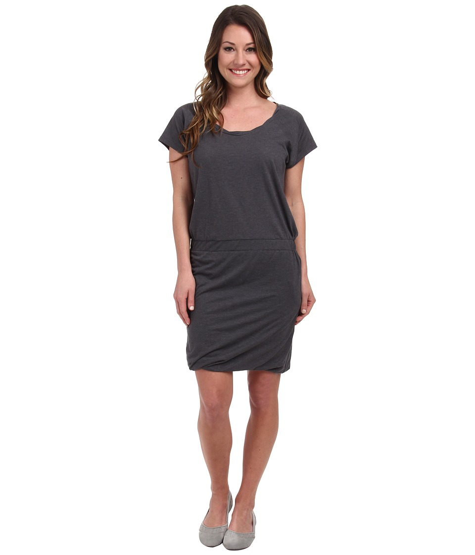 Toad&Co Allisa S/S Dress (Storm Grey) Women