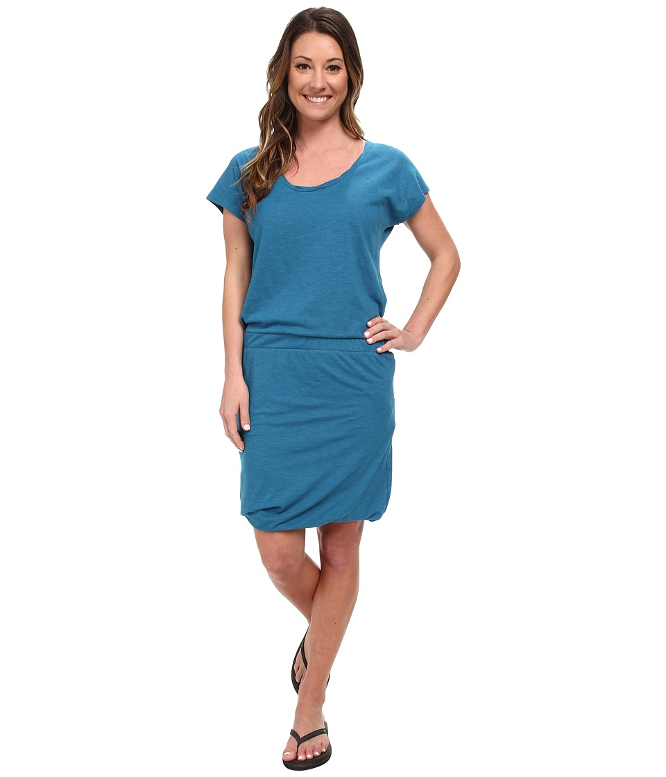 Toad&Co - Allisa S/S Dress (Tuareg) Women's Dress